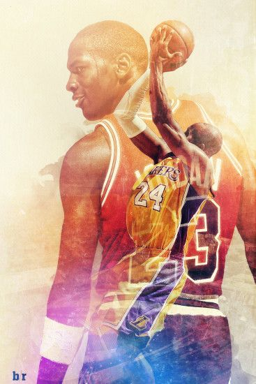 Michael Jordan Kobe Bryant. Download Wallpaper