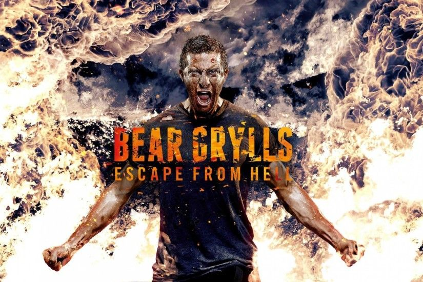 bear grylls grils a man fire vedmed bear escape discovery discovery  vyzhyvanie survive at any cost