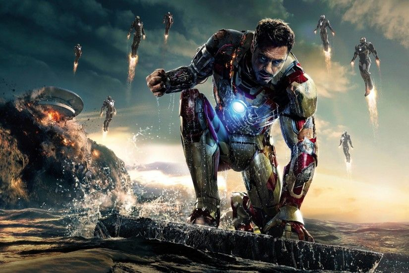 Iron Man 3 Wallpaper Hd 1366x768 Wallpaper | HDMarvelWallpaper