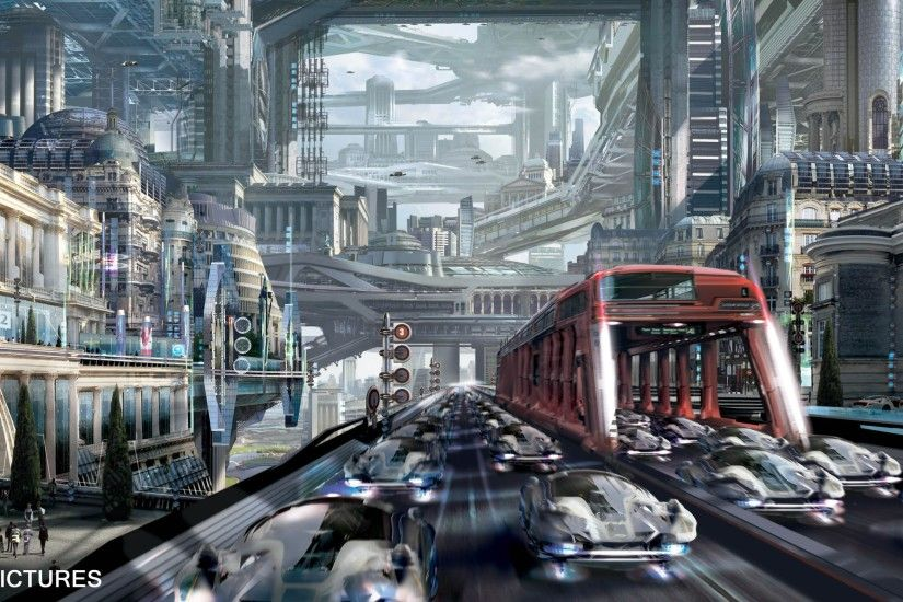 Total Recall Concept Art by Stephan Martiniere