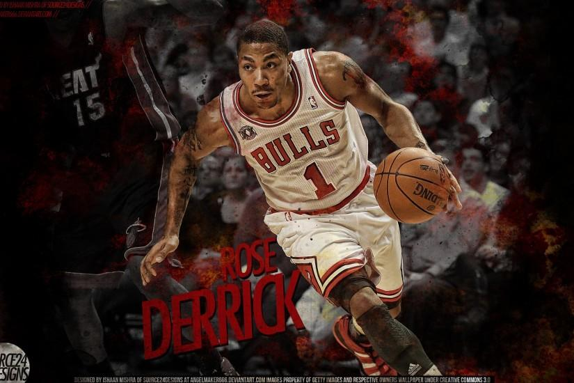 Derrick Rose Playing Basketball Hd Wallpaper | Wallpaper List