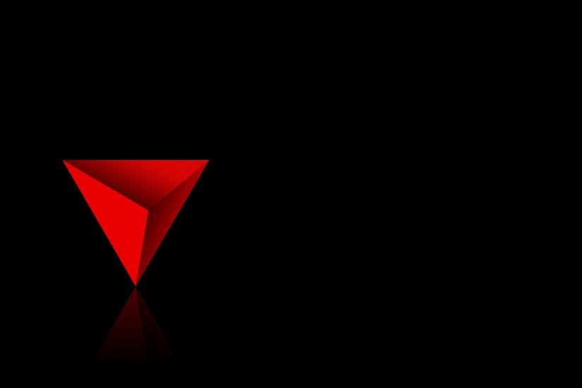 Red Triangle Wallpaper Background 8506