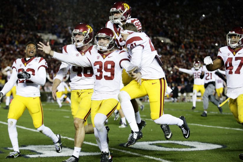 USC fights on and on — and wins a thrilling Rose Bowl on a last-second  field goal - LA Times