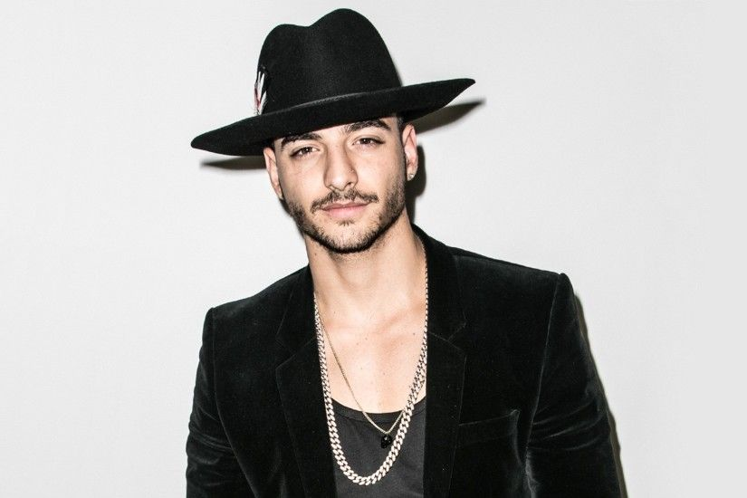 Maluma Wearing Cool Hat Wallpaper 22636