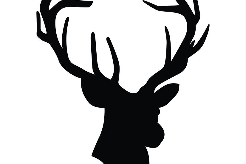 Clipart of deer head
