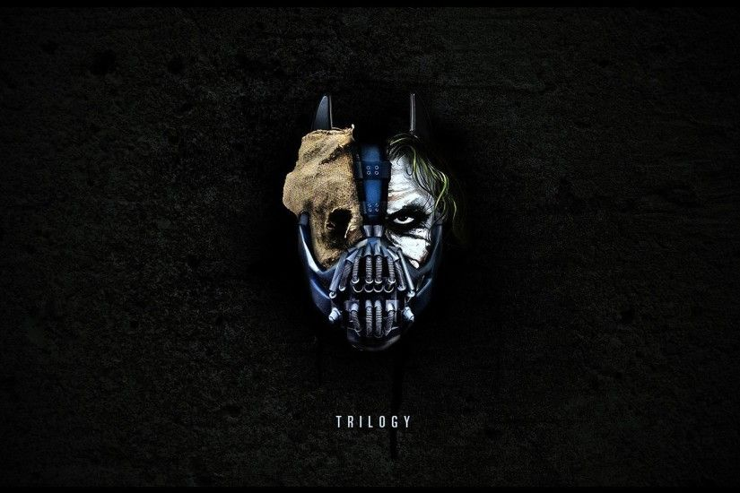 Batman, The Dark Knight, The Dark Knight Rises, Joker, Heath Ledger, Bane,  Mask, Trilogy Wallpapers HD / Desktop and Mobile Backgrounds