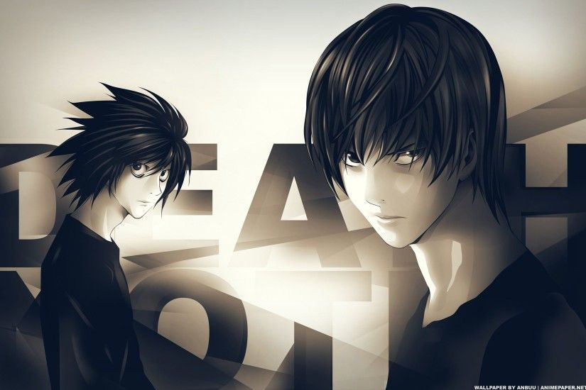 Death note yagami light l wallpaper | 2560x1600 | 15930 | WallpaperUP