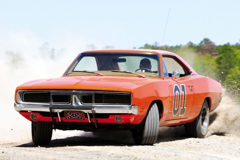 Dodge Charger General Lee Full HD Wallpaper and Background