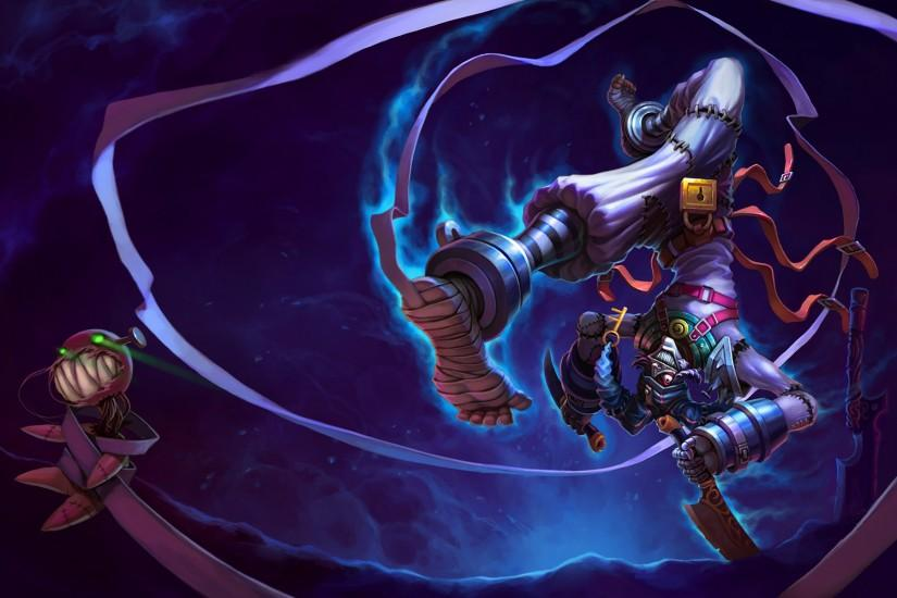 Asylum Shaco Splash Art League of Legends Artwork Wallpaper lol