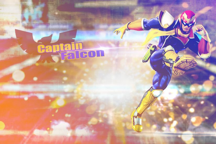 Captain Falcon - Wallpaper by kurosaki021 Captain Falcon - Wallpaper by  kurosaki021