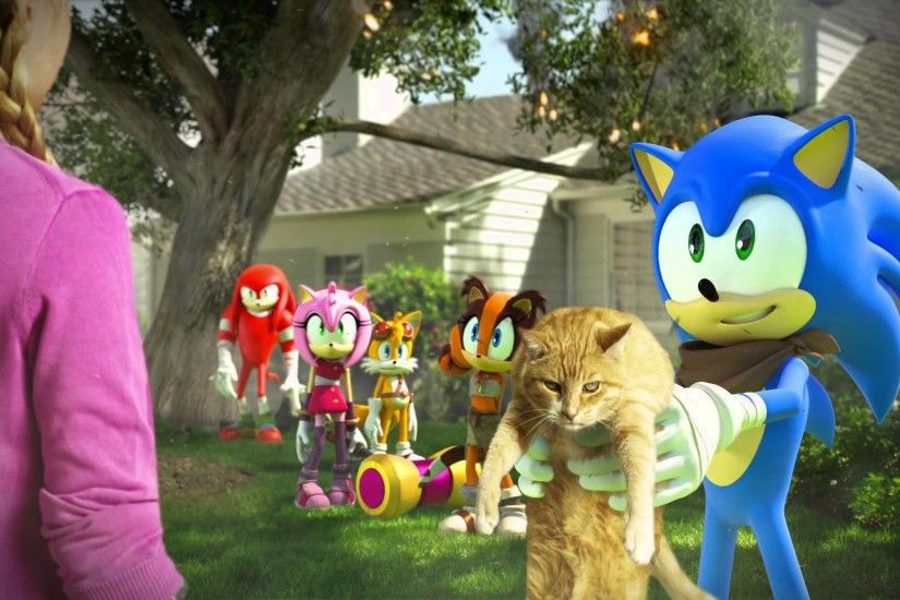 Sonic Boom 2014 TV Series images I found your cat HD wallpaper and  background photos