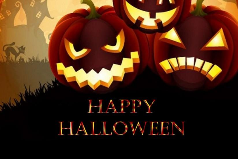 Happy Halloween Halloween Background Wallpaper HD