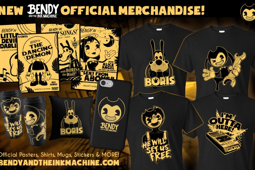 I am receiving mail by the busload of people wanting new Bendy stuff in our  store. O.o So I added a whole bunch more with new designs and now posters  from ...