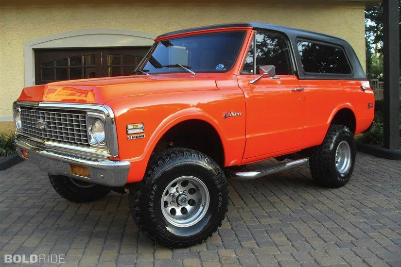 Vehicles - 1972 Chevrolet K5 Blazer Wallpaper