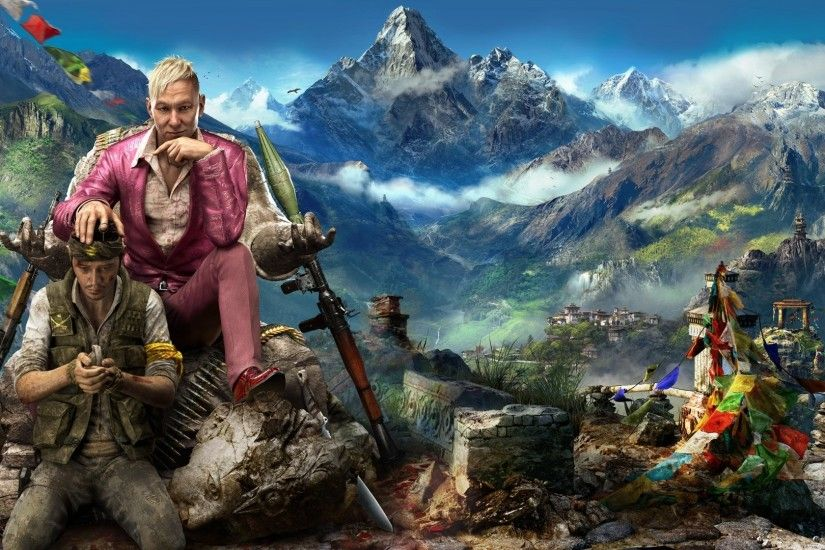 Preview wallpaper far cry 4, ubisoft, kirata, pagan min 1920x1080