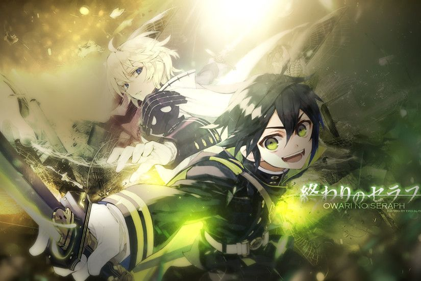 Owari No Seraph Wallpaper by Redeye27 Owari No Seraph Wallpaper by Redeye27