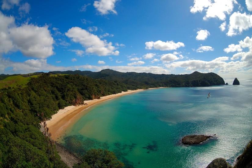 New chums beach new zealand Wallpapers Pictures Photos Images. Â«