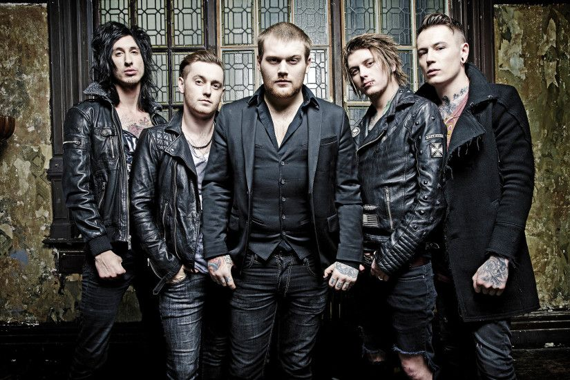 ASKING ALEXANDRIA metalcore heavy metal hard rock 1aska wallpaper .