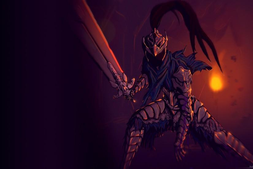 ... Wallpaper - Artorias of the Abyss 1920x1080 by Hellrain