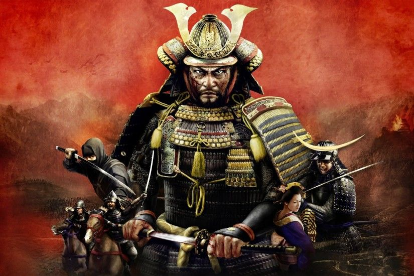 Total War: Shogun 2, Samurai, Warrior, Video Games, Katana Wallpapers HD /  Desktop and Mobile Backgrounds