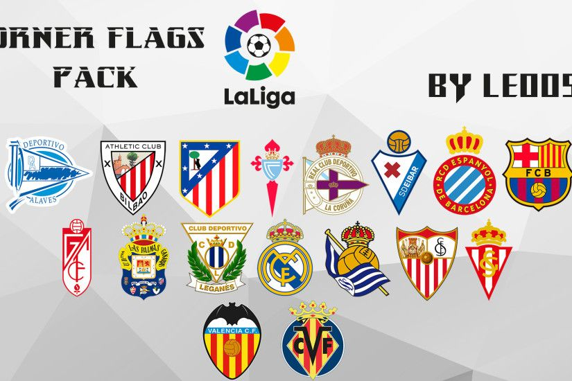 Download La Liga Corner Flag Packed by Leo05