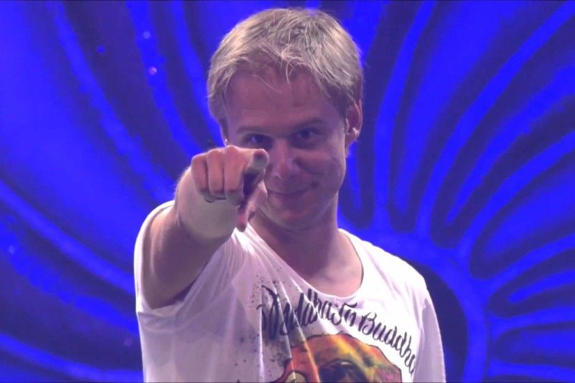 Photo of Armin Van Buuren.