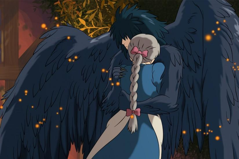 download free howls moving castle wallpaper 2120x1200 for mac