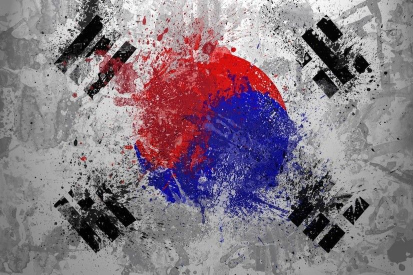 Pictures Of Korean Flag