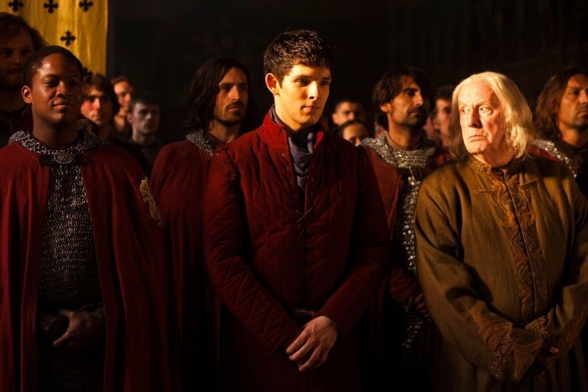 merlin merlin keep the magic secret colin morgan richard wilson