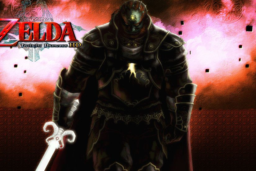 ... Zelda: Twilight Princess HD - Ganondorf Wallpaper by DaKidGaming