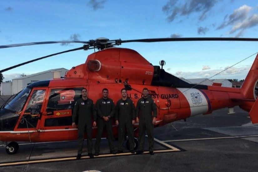 A Corpus Christi Coast Guard air crew is helping with storm relief efforts  following Hurricane Matthew