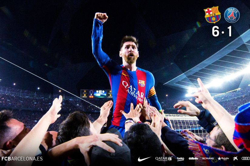 FCB 6 - PSG 1 08/03/2017 #wallpaper