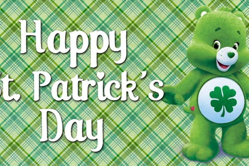 Happy St Patrick's Day from the Care Bears! | Good Luck Bear's Best Moments  - YouTube