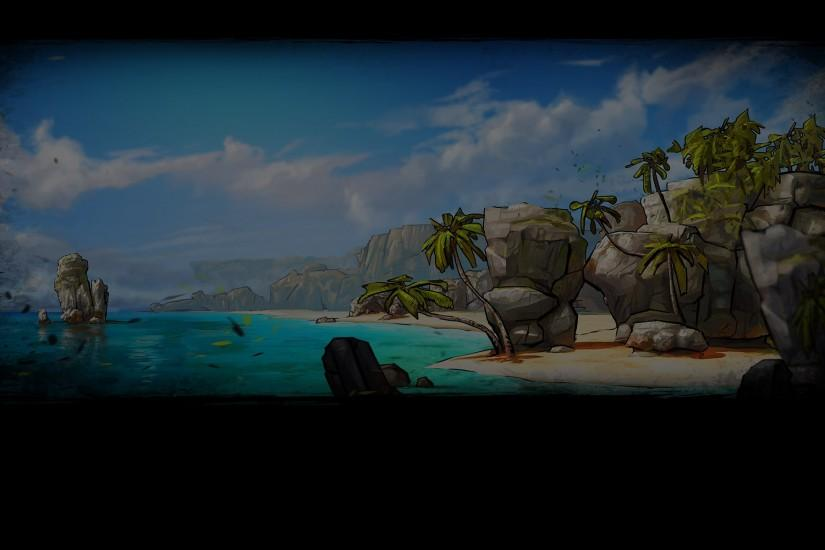 File:Escape Dead Island Background Beach.jpg