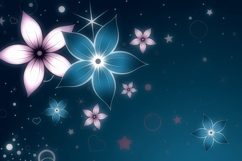 artistic-flowers-wallpaper-background