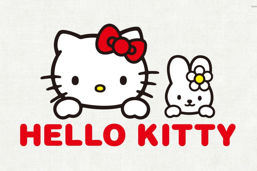 Kitty White and My Melody - Hello Kitty wallpaper