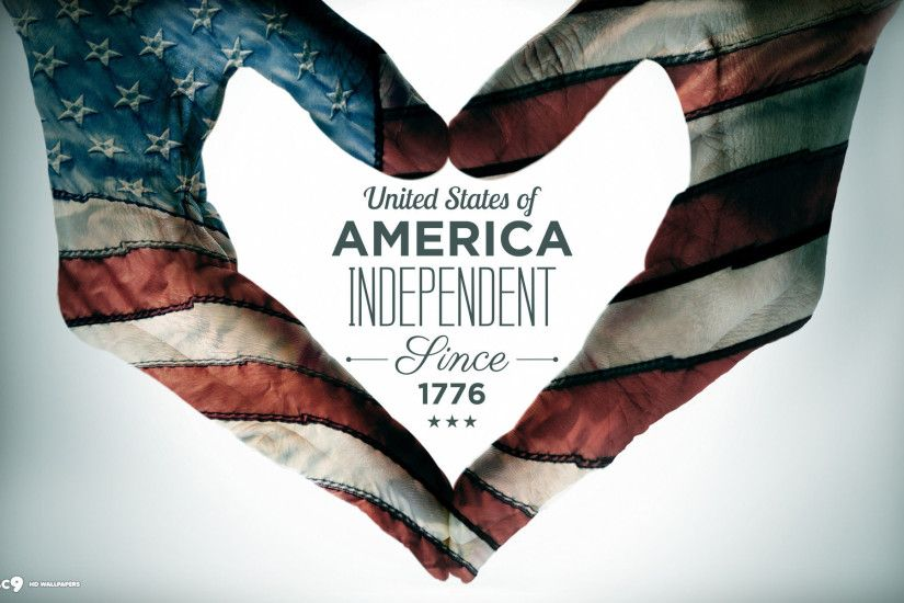 ... united states of america independent since 1776 4th of july heart hand  sign holiday hd wallpaper