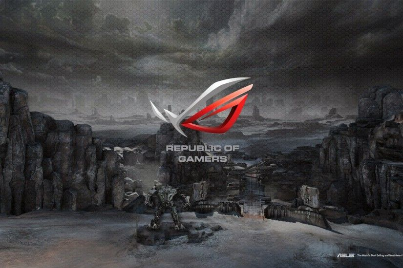 ASUS REPUBLIC GAMERS computer game wallpaper background