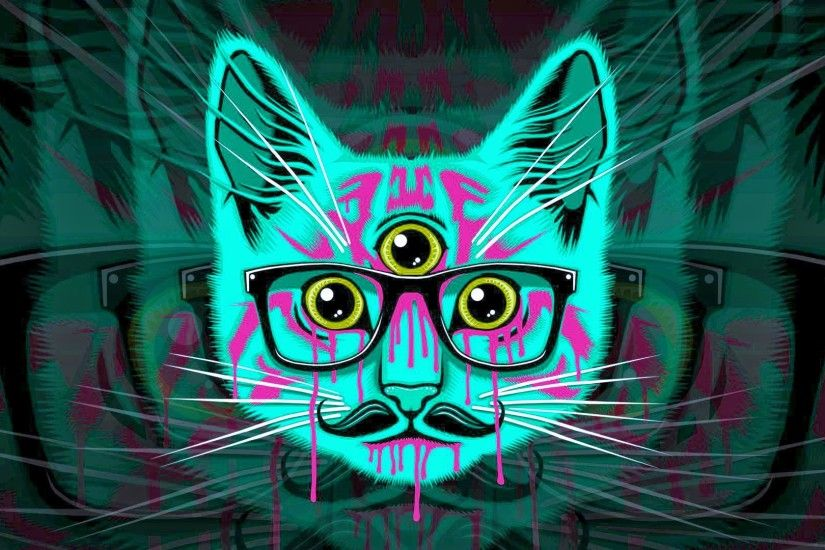 Trippy Cat Wallpapers, Cool Trippy Cat Backgrounds | 44 Superb .
