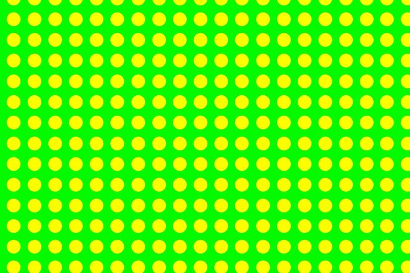 warm starburst yellow dot green background ...