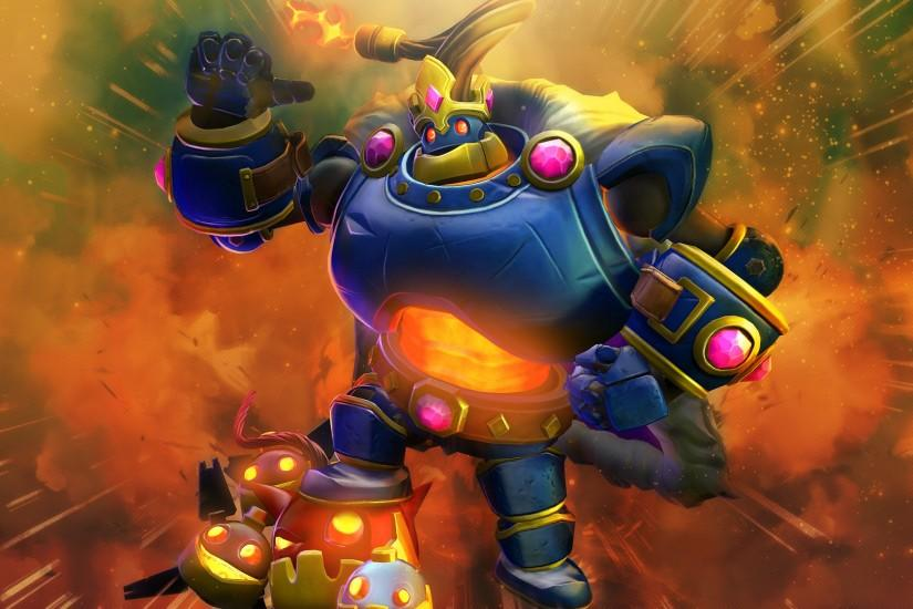 Paladins : Bomb King Wallpaper by VooshiGFX