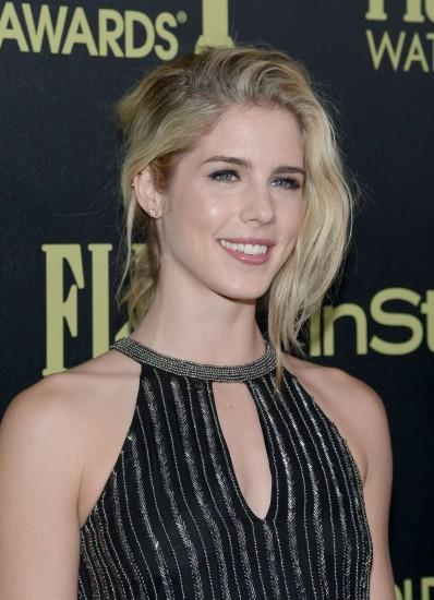 Emily Bett Rickards: HFPA And InStyle Celebrate The 2016 Golden Globe Award  Season -04 - Full Size