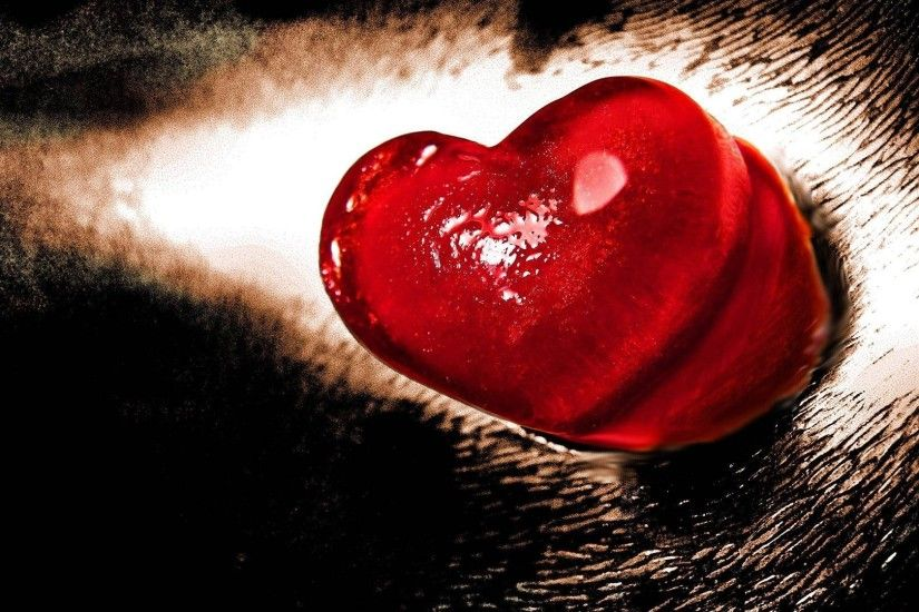 Valentine Day Love Heart HD Wallpaper