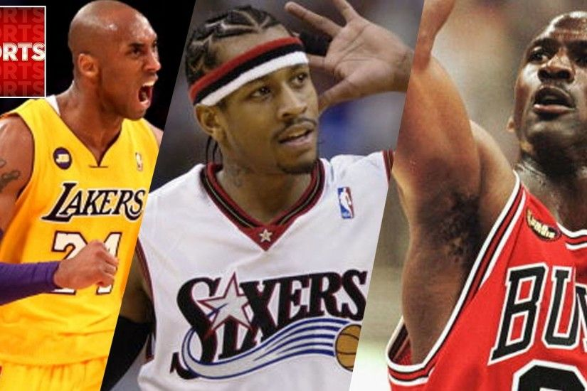 NBA 2k16 What If 1996 Draft vs. 1984 Draft [Kobe, Allen Iverson vs. Jordan,  Olajuwon] - YouTube