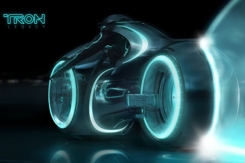 Blue Light Cycle from Tron: Legacy wallpaper - Click picture for high  resolution HD wallpaper
