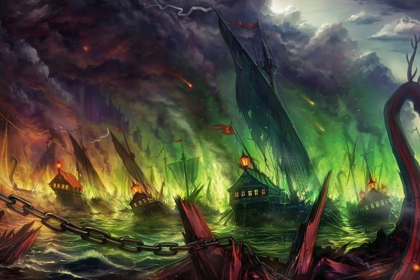 wallpaper war · fire · storm · ships · Game of Thrones · A Song Of Ice ...