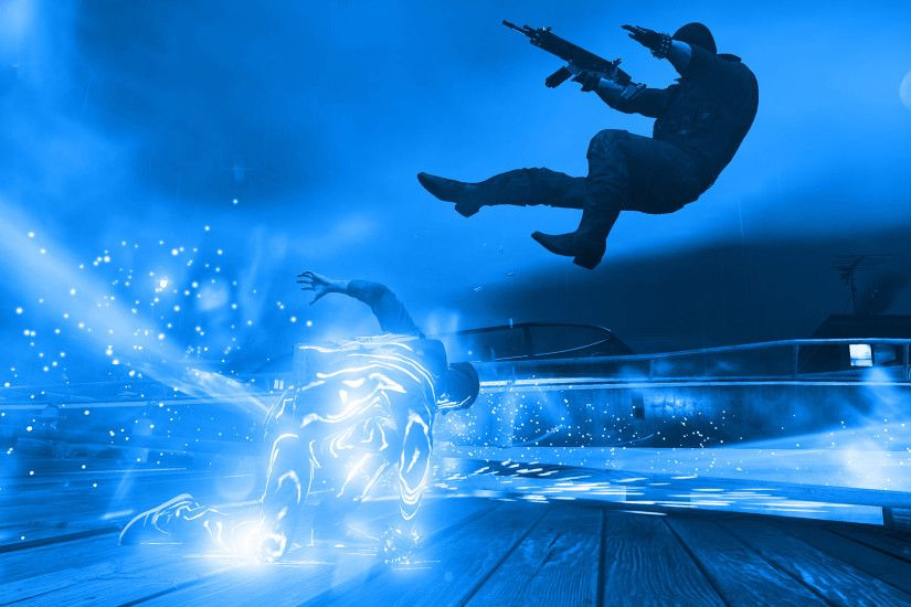 ... Infamous Second Son Blue Neon Wallpaper 10 by XtremisMaster
