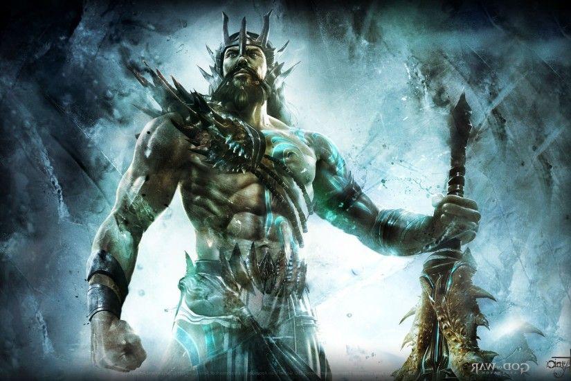 Video Games God Of War Poseidon Mythology Wallpapers HD Desktop And Mobile