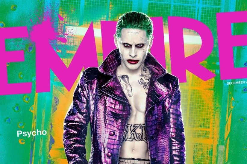 Jared Leto Joker Movie Suicide Squad · HD Wallpaper | Background ID:691746