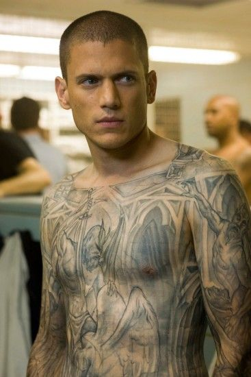 Michael Scofield (prison break) played by Wentworth Miller Character I Like